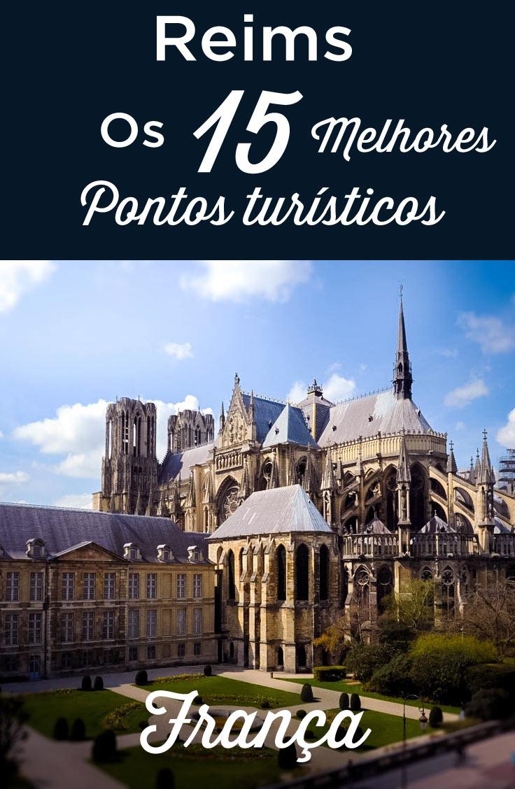 Reims pontos turísticos