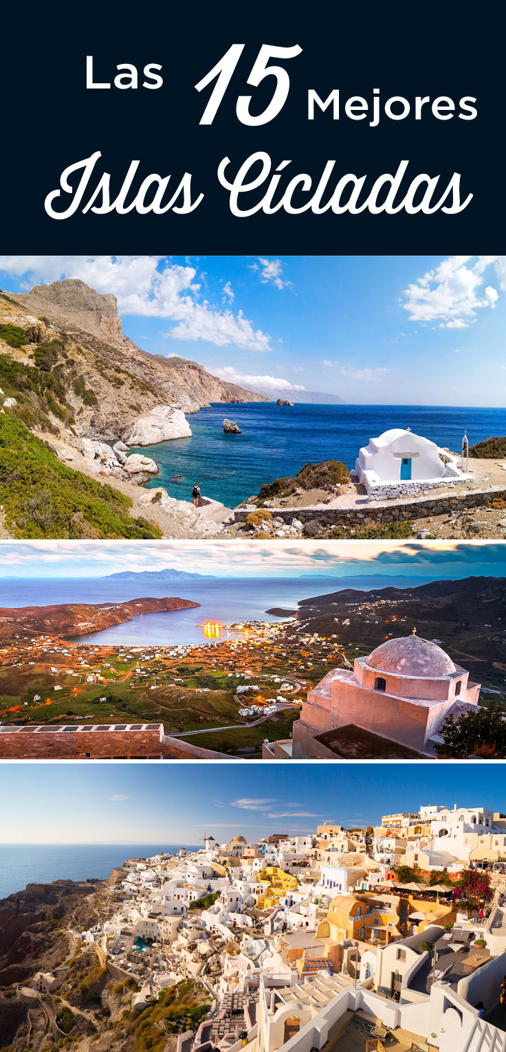 Cícladas Grecia