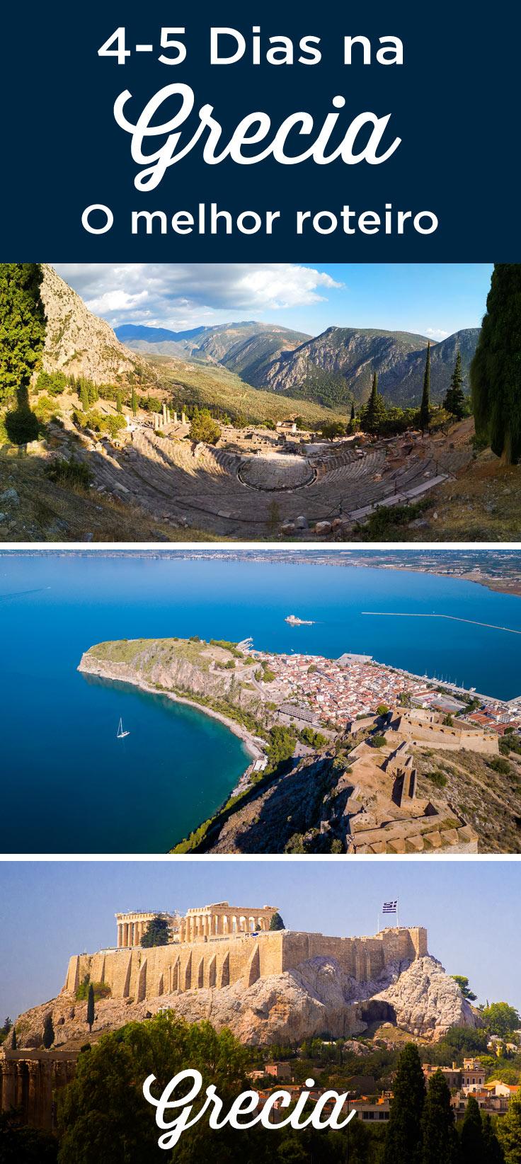 4-5 dias na Grecia