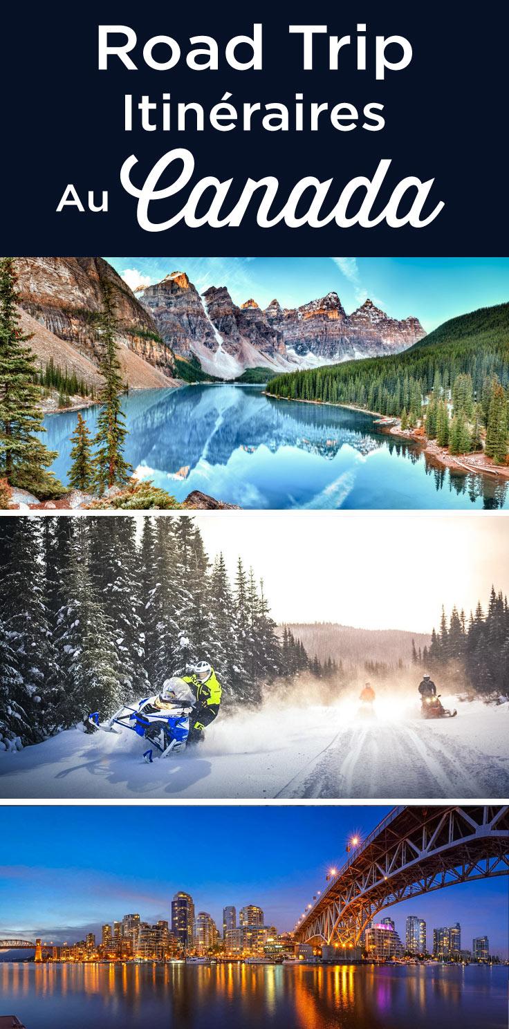 Itinéraire road trip au Canada