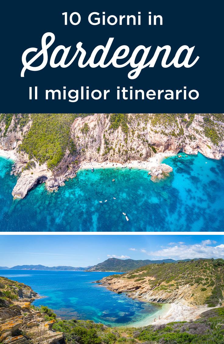 Sardegna itinerario 10 giorni cosa vedere