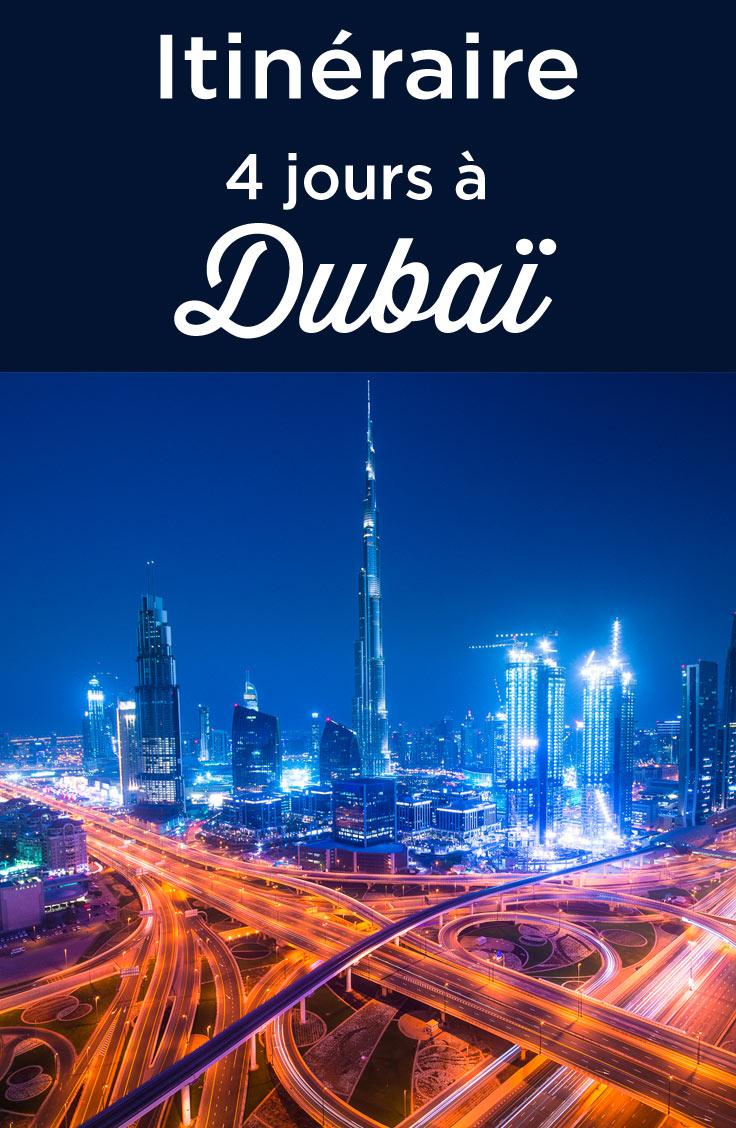 4 jours à Dubai