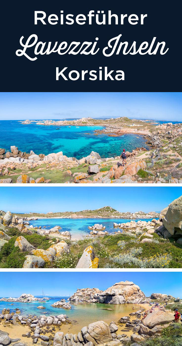 Lavezzi inseln Korsika