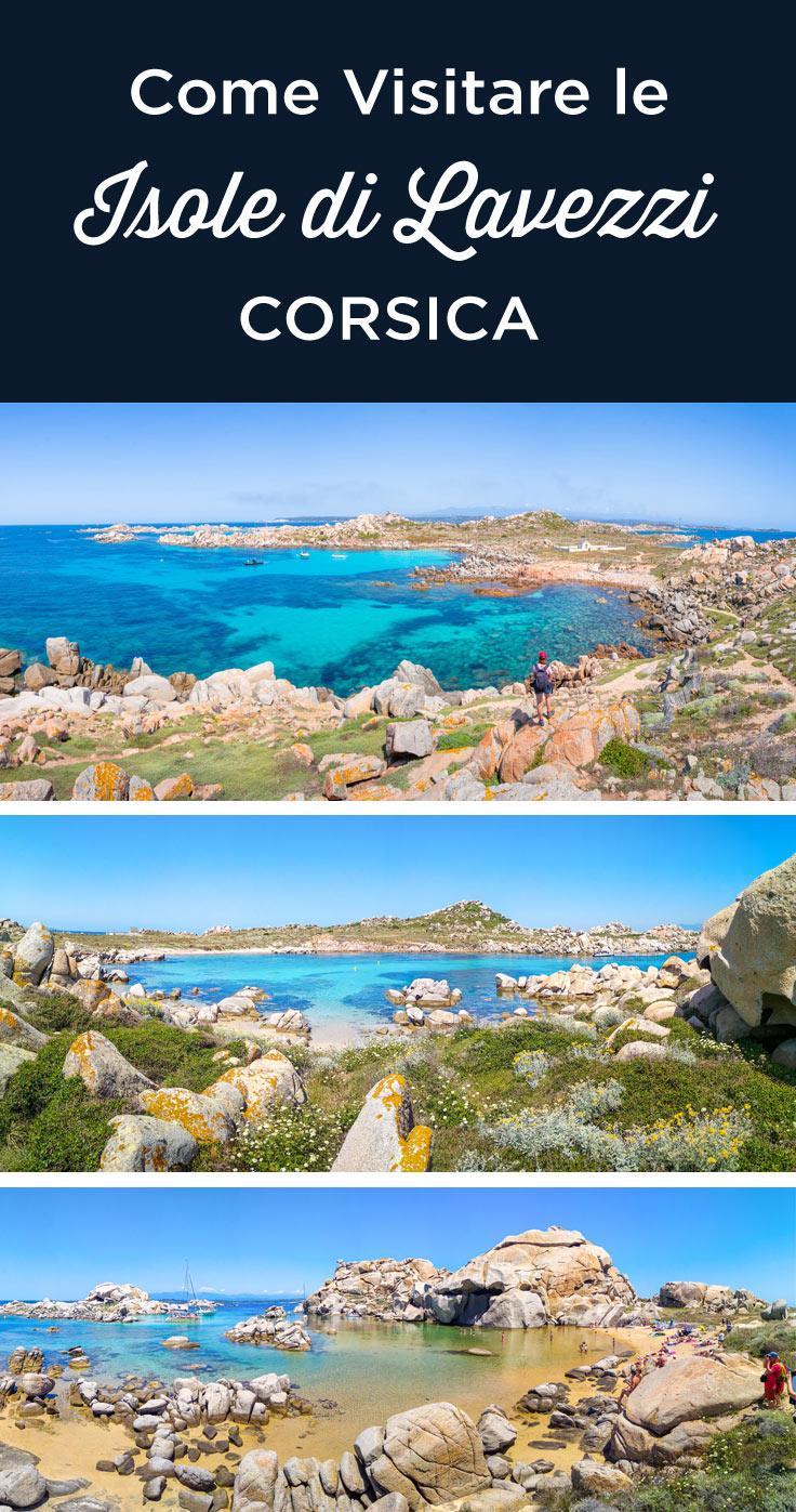 Visitare Lavezzi Corsica