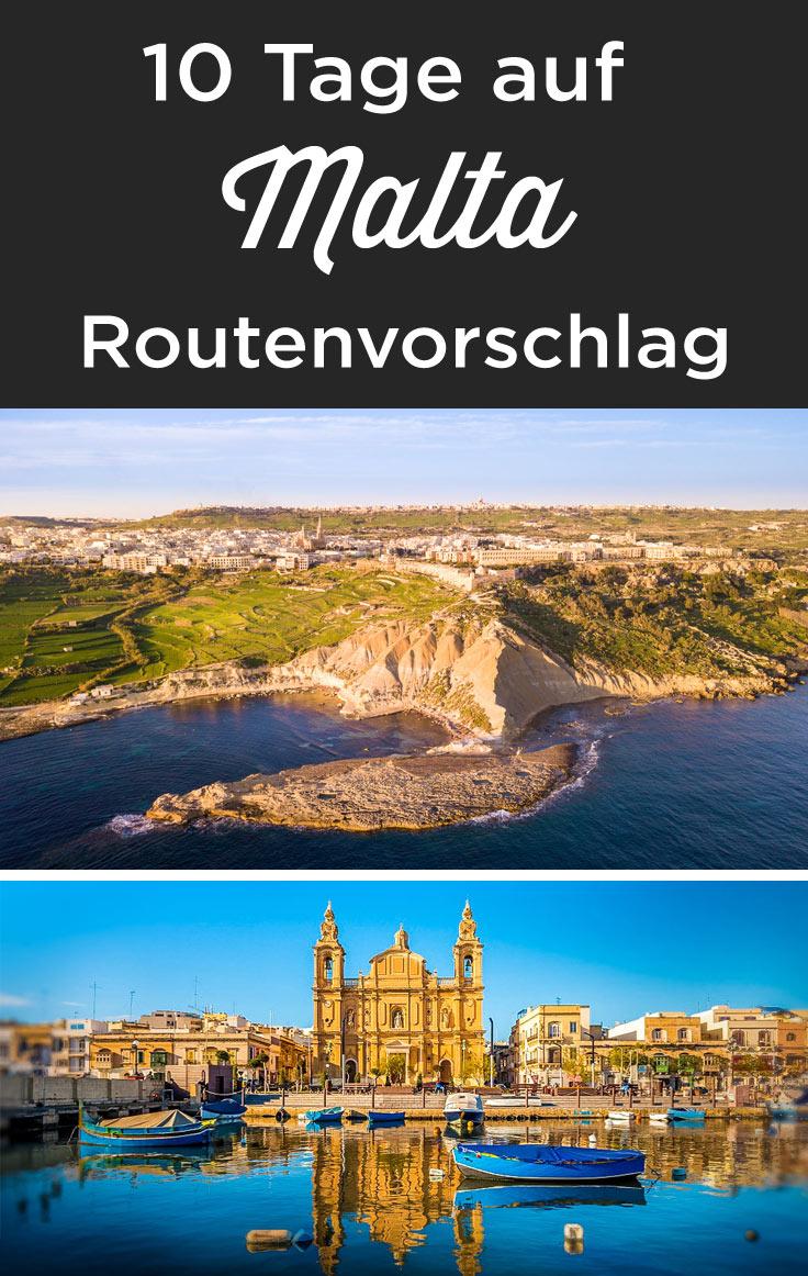 rundreise Malta 10 tage