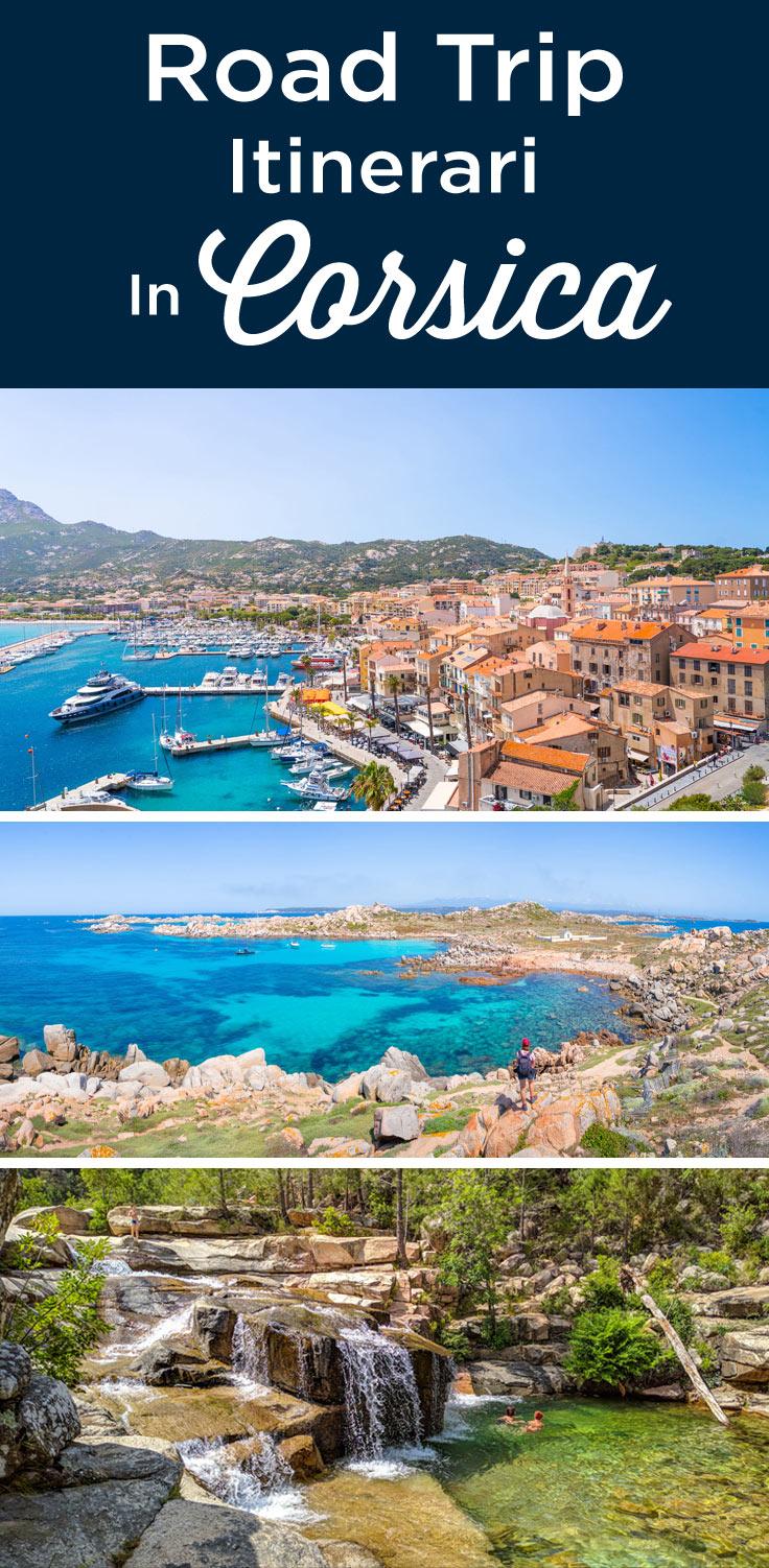 visitare la Corsica in auto